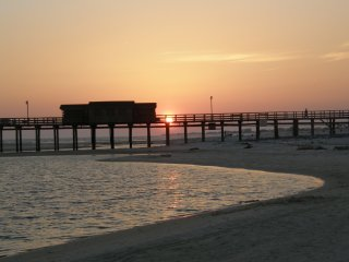 Island images for Dauphin island fishing pier